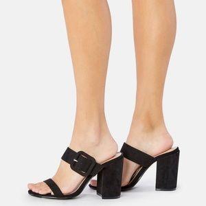 JustFab Miriana Wedge Heels